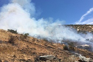 Fire North Of Lakeside Is Now 100% Contained