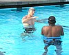 Making A Splash: Program Teaches Water-Shy Adults How To Swim