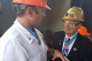 Medal Of Honor Recipient From Battle Of Iwo Jima Speaks I...