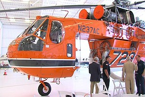Firefighting Helicopter Returns To San Diego