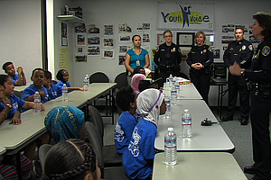 San Diego Police Reach Out To Children In City Heights
