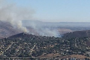 Evacuation Orders Lifted For Spring Valley Fire