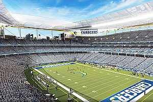 Taxpayers Association Says Chargers Plan Would Leave City...