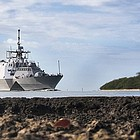 Navy officials in San Diego Monday were assessing the damage in the third major engine breakdown over the past year in a littoral combat ship, prompting an admiral to call for improvements in engineering oversight and training.