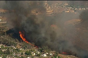 17-Year-Old Arrested For Spring Valley Fire