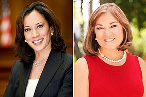 California Counts Poll: Big Leads For Kamala Harris, Yes On Pot
