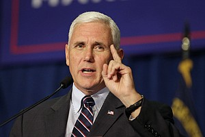 Republican VP Candidate Pence To Attend Fundraising Event...