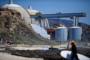 U.S. Senate Candidate Sanchez Criticizes Opponent Harris On San Onofre Probe