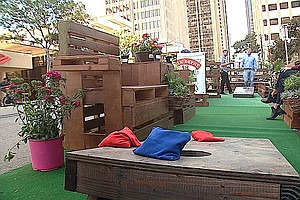 Park(ing) Day Transforms Downtown San Diego Into Playgrounds