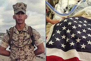 Camp Pendleton Marine Shot In South L.A. Dies