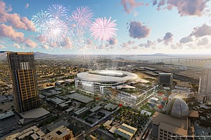 Downtown Partnership Endorses Chargers' Stadium Plan