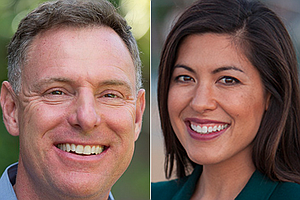 Scott Peters, Denise Gitsham Tout Endorsements From Busin...