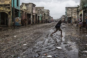 Tease photo for After Hurricane, Activists Request Renewed Immigration Protections For Haitians