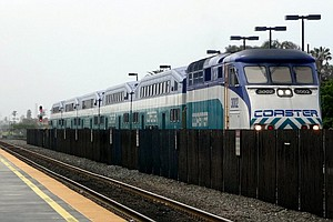 Construction Halts Weekend Trains Between San Diego And L...