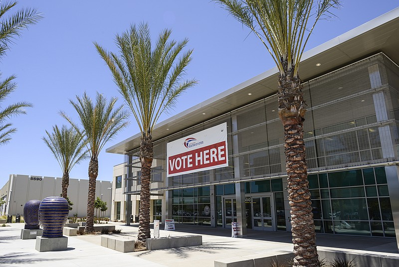 Early voting starts in san diego kpbs for Michaels arts and crafts san diego