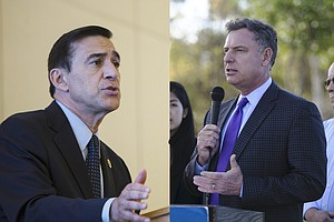 Tease photo for News In Numbers: Issa's And Peters' Voting Records Show Contrasting Degrees Of Party Loyalty