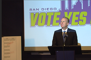 Faulconer, Other Stadium Backers Highlight Chargers' Role In San Diego