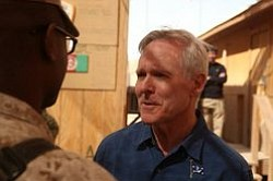 Navy Secretary Ray Mabus Calls On San Diego
