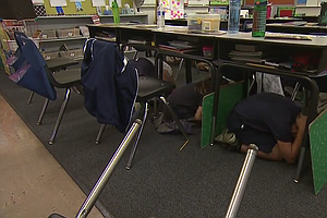 Tease photo for Millions 'Drop, Cover And Hold On' For Annual Great California ShakeOut
