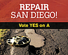 #ShowUsYourMailers: How Much Money In Measure A Would Repair Roads?