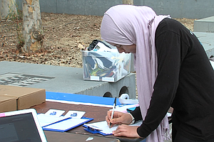 Tease photo for On Final Day To Register, UC San Diego Leads In Voter Sign-Ups