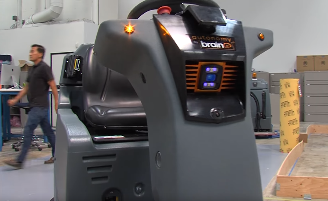 Will This San Diego Company's Robot Take Jobs From Janitors