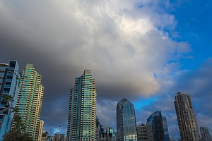 Tease photo for San Diego Weather: Showers, Chance Of Thunderstorms