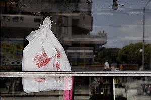 Tease photo for Voters Will Decide The Fate Of Plastic Bags In California