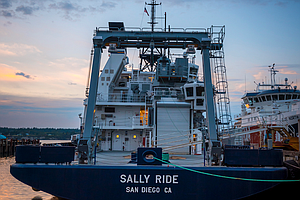 Aboard The Scientific Research Vessel Sally Ride
