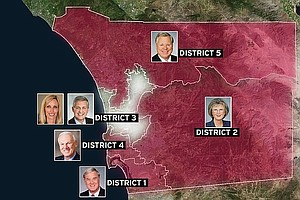 Democrats Take Upper Hand In County Supervisors' District...