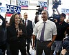 Near Finish Line, Kamala Harris Campaigns For Other Races