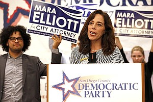 Tease photo for Elliott Maintains Lead In Race To Be City's Next Lawyer