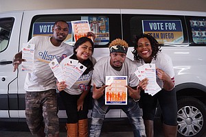 Tease photo for San Diego's Minority Voters Get Free Rides To Polls