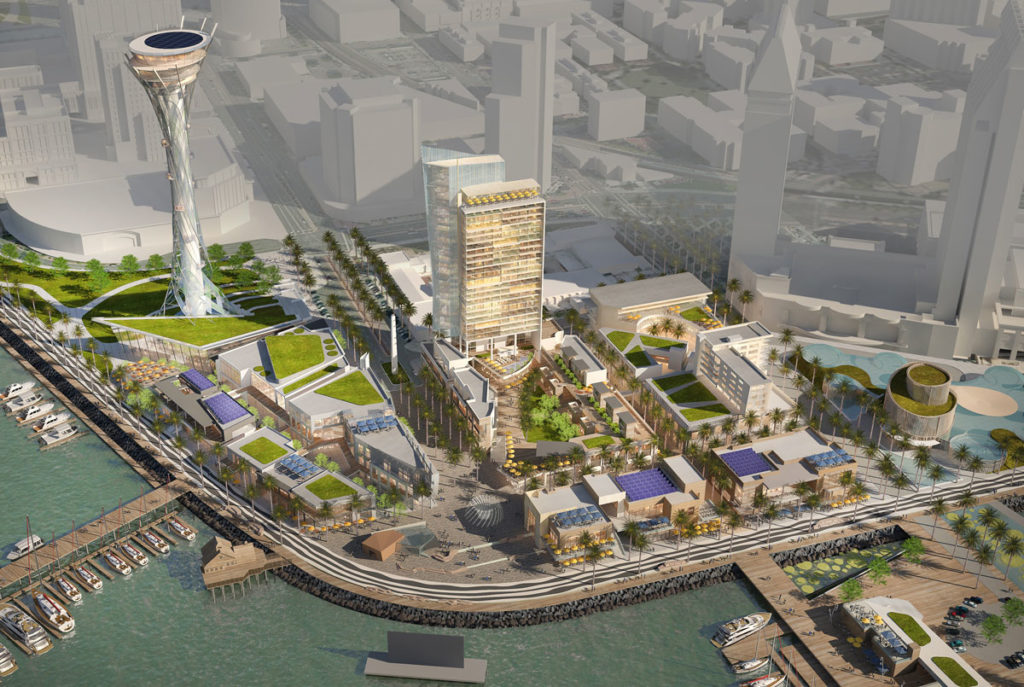 Port To Consider Seaport Village Redevelopment Proposal Kpbs