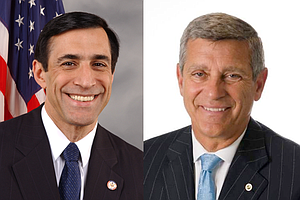 Tease photo for Small Lead For Endangered Incumbent Darrell Issa