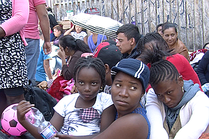 Tease photo for U.S. Immigration Officials Release Haitians Due To Limited Detention Space