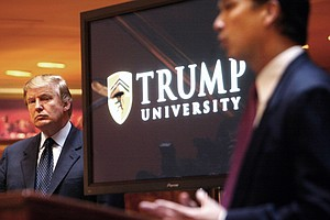 Tease photo for Trump University Settles Lawsuits For $25M