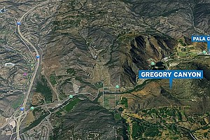 Tease photo for With Pala Purchase, Landfill Plan For Gregory Canyon Is Dead
