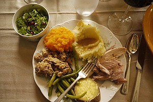 Tease photo for How To Keep The Political Peace At Thanksgiving Dinner