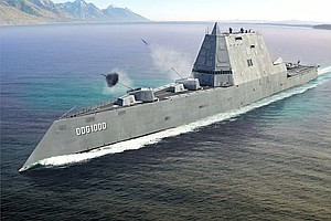 Tease photo for New Navy Destroyer Breaks Down On Route To San Diego
