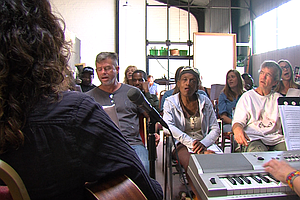 Tease photo for Homeless Choir Singers In San Diego Find Healing Through Music