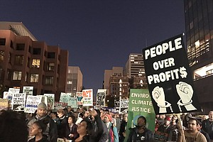 Tease photo for Hundreds In San Diego Join 'Fight For $15' Protests