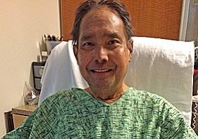 Man Recovering After First Ever Heart-Liver Transplant Su...