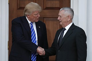 Trump's Pick For Defense Secretary Led Camp Pendleton Mar...