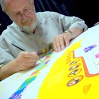 Tease photo for Famed Animator Ron Campbell Brings Art Show To San Diego