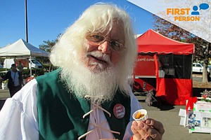 Tease photo for First Person: San Diego's Sustainable Santa Out To Change Santa's Image