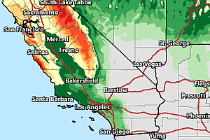 More Rain Moving Into San Diego County