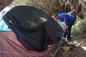 Tease photo for Organization Helps San Diego Homeless Prepare For Wet Weather