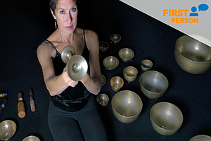 Tease photo for First Person: Encinitas Woman Uses Tibetan Bowls As Healing Tool