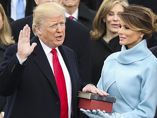 Live Blog: Donald Trump Sworn In As 45th President